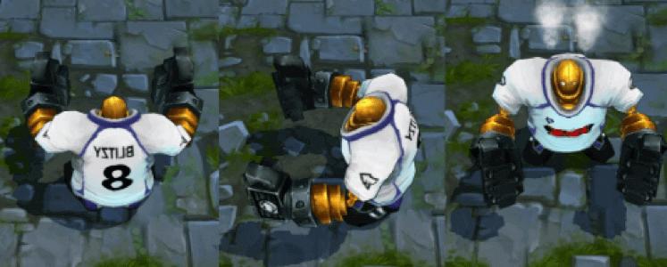 lol goalkeeper blitzcrank in game image
