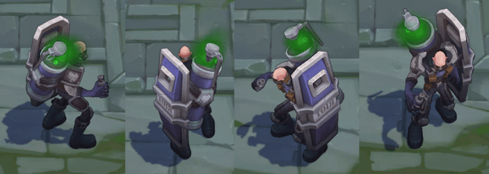 riot squad singed skin on the battlefield image