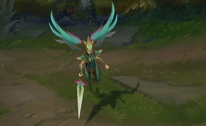 league of legends viridian kayle now image