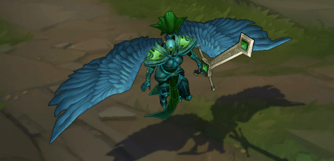 lol viridian kayle before it reworked image